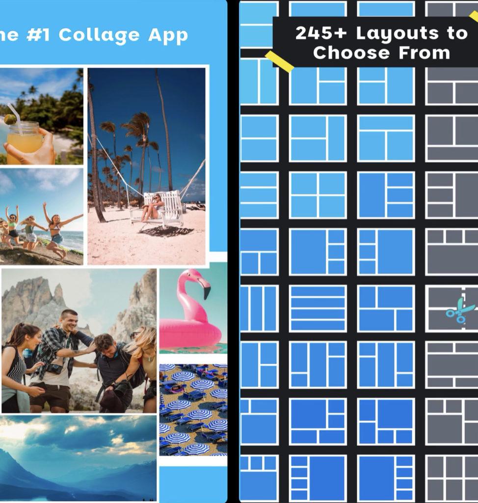 Расширенные возможности по созданию коллажей, возможность редактировать шаблоны и другие уникальные идеи дизайна собраны в приложении Pic Stich